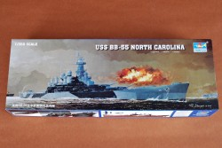 USS North Carolina BB-55 - 1:350