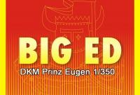 Big Ed Fotoätzteile Set für 1:350 DKM Prinz Eugen - Trumpeter 05313