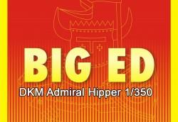 Big Ed Fotoätzteile Set für 1:350 DKM Admiral Hipper - Trumpeter 05317