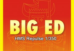 Big Ed PE Parts Set for 1/350 HMS Repulse - Trumpeter 05312 - 1/350