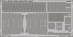 Fotoätzteile Waffen für 1:144 Fletcher Class Destroyer - Revell 05091 - 1:144