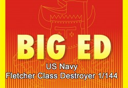 Big Ed Set für 1:144 Fletcher Class Destroyer - Revell 05091 - 1:144