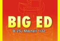 Big Ed Fotoätzteile Set für 1:32 B-25J Mitchell - HK Models