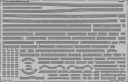 Fotoätzteile Reling für 1:350 IJN Yamato - Tamiya 78025 - 1:350