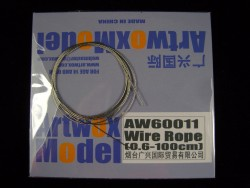 Wire Rope - 0,6mm - 100cm