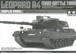 Instructions for Tamiya Leopard 1A4 Static Model 36207 - 1/16