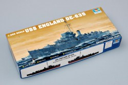 USS England DE-653 - Buckley Class Destroyer - 1:350