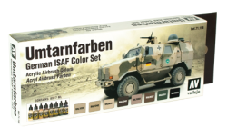 Model Air German ISAF Color Set / Umtarnfarben