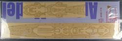 Wooden Deck for 1/350 DKM Prinz Eugen - Trumpeter 05313 - 1/350