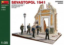 Sevastopol 1941 - mit Figuren - 1:35