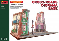 Cross-roads Diorama Base - 1/35
