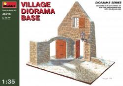 Ländliches Haus / Dorf Diorama - 1:35