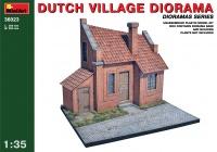 Ländliches Holländisches Haus / Holländisches Dorf Diorama - 1:35