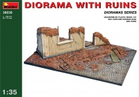 Diorama with Ruins - 1/35