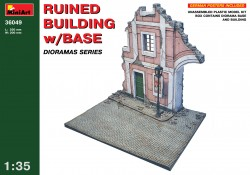 Ruined Building with Base - 1/35