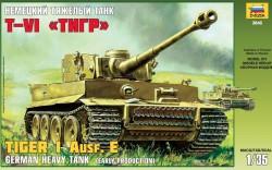 German Heavy Tank Tiger I Ausf. E - Early Production