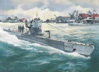 German U-Boat Type IIB (1943) - 1/144