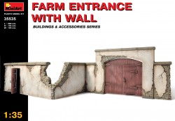 Farm entrance with Wall - 1/35