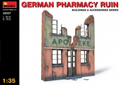 German Pharmacy Ruin - 1/35