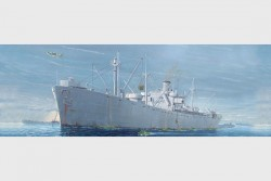 Liberty Ship SS Jeremiah O'Brien - 1/350
