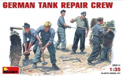 German Tank Repair Crew - 5 Figures - 1/35