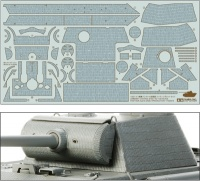 Zimmerit Coating Sheet for Tamiya Panther G early Production (35170)