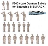 Kriegsmarine Figuren - 1:200