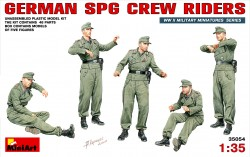 German SPG Crew Riders - 1/35