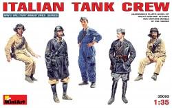Italienische Panzerbesatzung