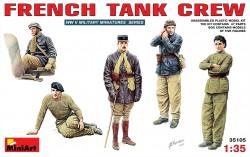 Französische Panzerbesatzung