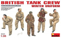 British Tank Crew - Winter Uniform - 1/35