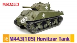 US M4A3 Sherman - 105mm Howitzer - 1:6