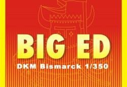 Big Ed Fotoätzteile Set für 1:350 DKM Bismarck - Revell 05040- 1:350