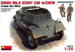 Deutscher Pz.Kpfw. Mk.I 202(e) mit Besatzung