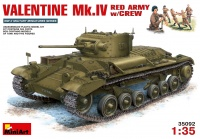 Valentine Mk. IV - Red Army Version with Crew