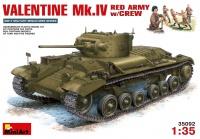 Sowjetischer Valentine Mk. IV mit Besatzung