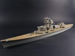 Wooden Deck for 1/350 DKM Admiral Hipper - Trumpeter 05317 - 1/350