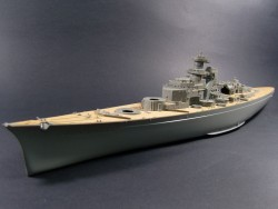 Wooden Deck for 1/350 DKM Bismarck - Revell 05040 - 1/350