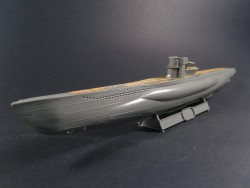 Wooden Deck for 1/144 DKM U-Boat Type VII C/41 - Revell 05100 - 1/144
