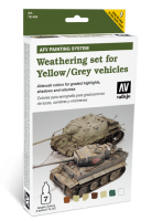 Weathering Set for Yellow / Grey Vehicles