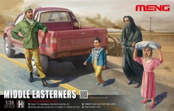 Middle Easterners - Civilians - 1/35