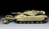 Israelischer Kampfpanzer Merkava 3 BAZ mit Minenroller - 1:35