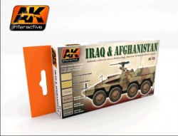 Iraq & Afghanistan Color Set (6 acrylic colours)