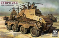 German schwerer Panzerfunkwagen 8 Rad Sd.Kfz. 263 - Early Type - 1/35