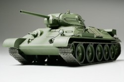 T-34/76 - Model 1941 - Cast Turret - Russian Medium Tank - 1/48