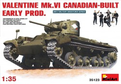 Valentine Mk. IV Canadian Build - Early Production with Crew