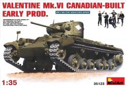 Valentine Mk. IV - Kanadische Produktion - Frühe Version mit Besatzung