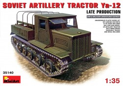 Soviet Artillery Tractor YA-12 Late Production
