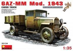 Soviet GAZ-MM Model 1943 Cargo Truck