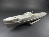 Holzdeck für 1:72 Deutsches Schnellboot S-100 - Revell 05002